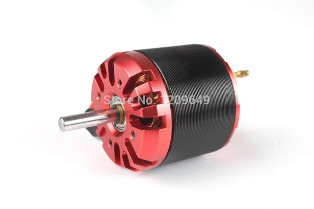 EMP C4250 Outrunner Brushless Motor Plane motor KV500 with All Installation Accessories