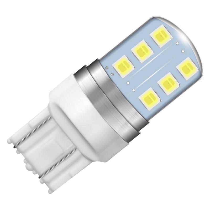 Krator 100PCS 7443 T20 Auto strobe flash LED Bulb Flashing switchback tail brake Lights Lamp