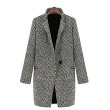 Autumn Winter Women Coat Fashion Casual Coat Female Elegant Jackets 2019 Long Sleeve Button Blazer Outwear Tops Plus Size XXL
