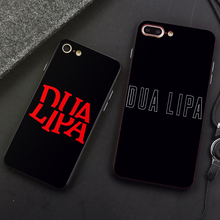 DK Dua Lipa Popular singer songwriter phone case black cover for Samsung s8 s9plus S6 S7e for iPhone 6s 7 8plus 5 X XS XR XSMax