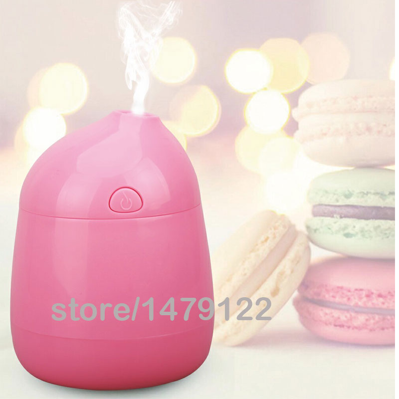Mini Portable Bottle Cap Air Humidifier with USB Cable for Office Home portable mini air humidifier purifier night light with usb for home office decorations