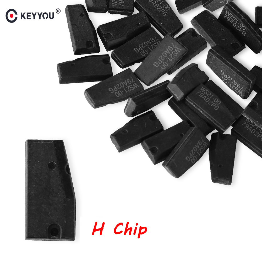 KEYYOU 5x Transponder Key Chip H 8A Carbon Chip Fit For Toyota Rav4 Camry H Chip-in Car Key from Automobiles & Motorcycles    1