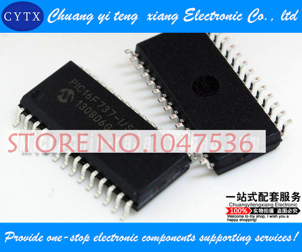 PIC16F737-I/SO SOP28 integrated circuit IC Single chip Best selling 5pcs/lot