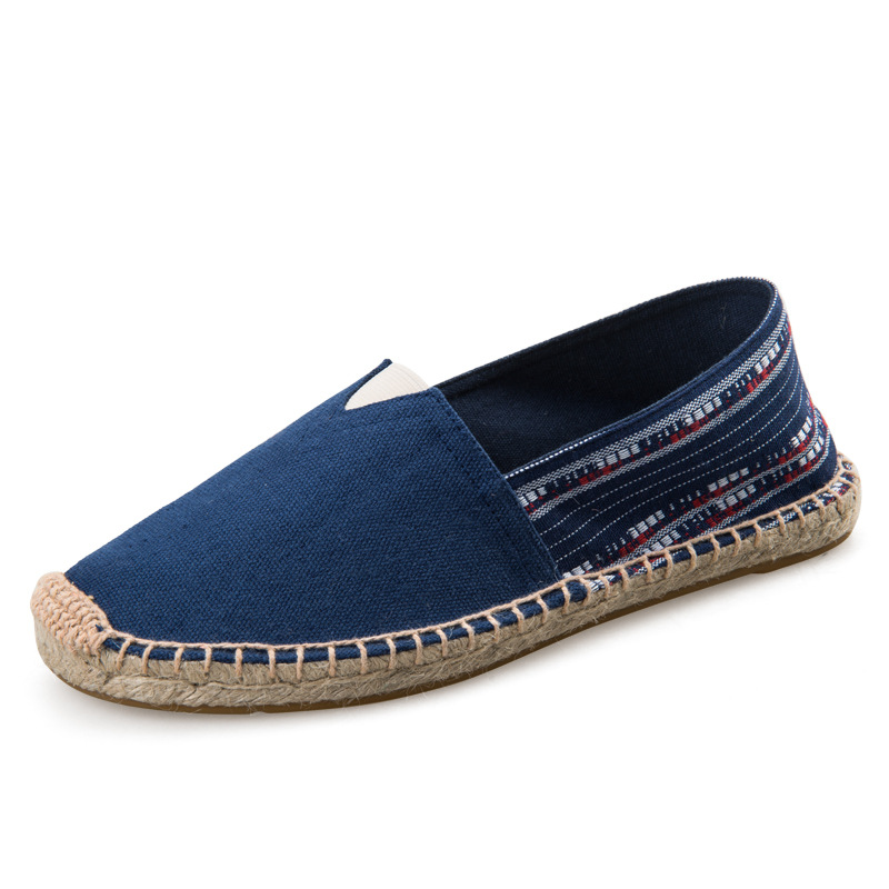 New 2018 Summer Slip On Men Casual Shoes Canvas Fashion Men Shoes Soft Bottom Male Espad ...