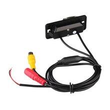 Marsnaska Лидер продаж Новые акции черный CMOS заднего вида обратный резервный Парковка Камера Ночное видение Водонепроницаемый для BMW X5 X6