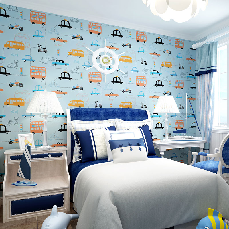 Use Childen S Room Wallpaper To Add Oodles Of Character: Wallpaper For Childrens Bedrooms