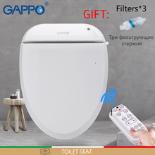 GAPPO Toilet Seats intelligent Bidet smart Seat clean dry Warm toilet cover Elongated heated seat lid