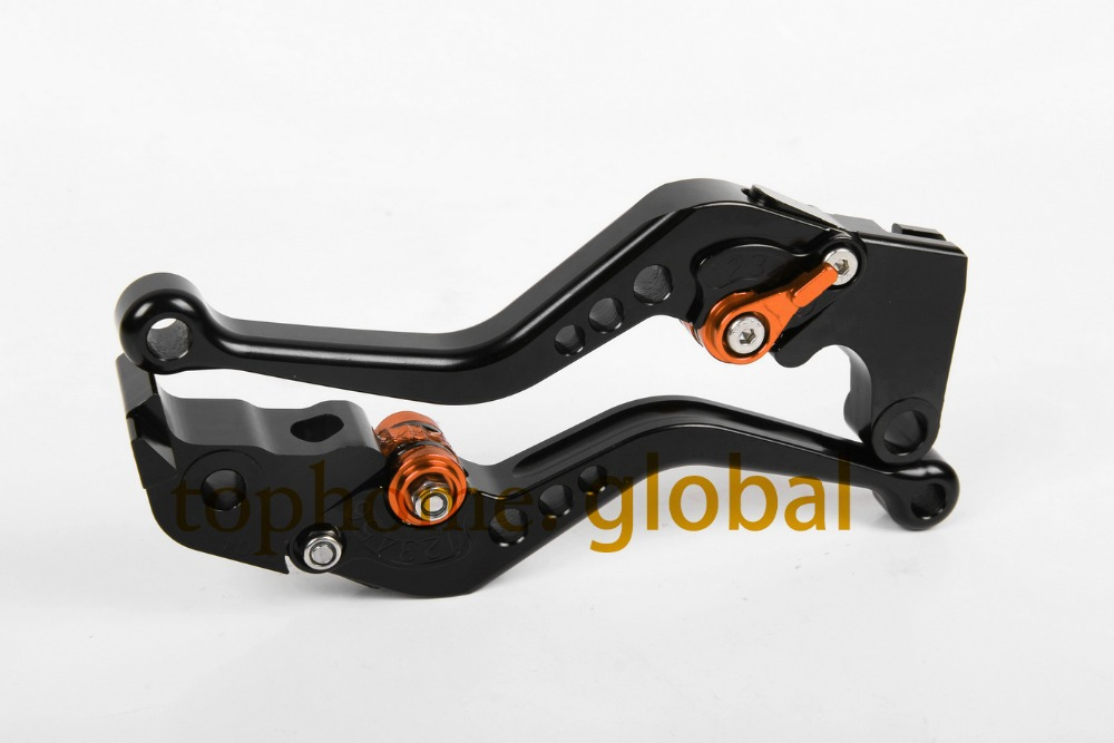 Motorcycle Accessories For KTM 1290 Super Duke R 2014 Short Black CNC Clutch Brake Lever ...