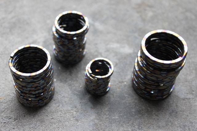 Multicolor титан қорытпасы EDC Ultra жеңіл - Кемпинг және жаяу жүру - фото 3