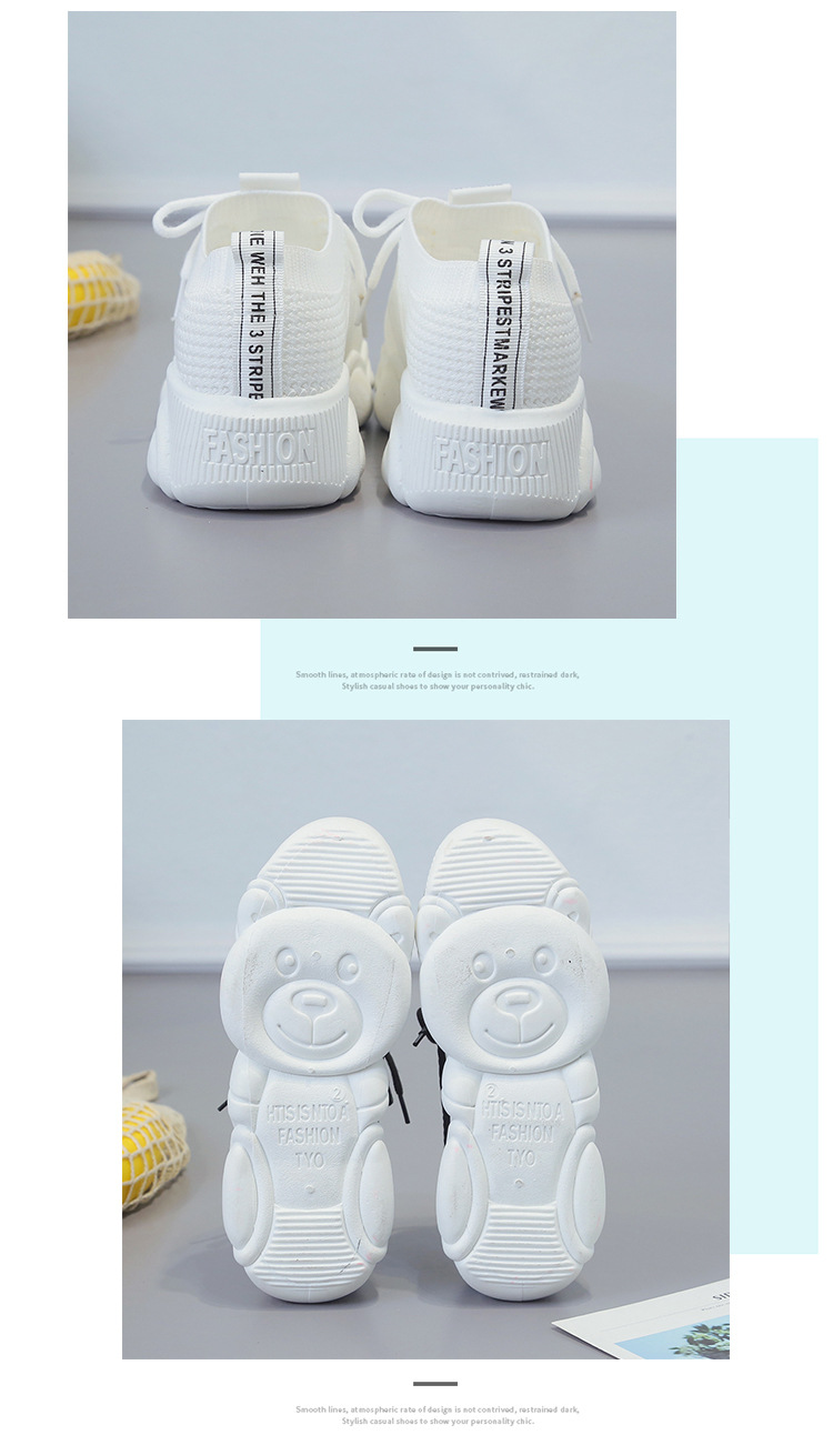 Breathable Women Casual Shoes Summer Lace Up White Platform Sneakers Fashion Soft Walking Flat Women Vulcanize Shoes New VT220 (11)