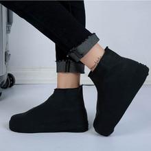 Непромокаемая обувь, дождевик, нескользящий многоразовый силикон, стельки, ботинки для обуви, скользкая уличная походная обувь для рыбалки