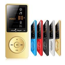 2017 Nuevos Llegan Ultrafino 8 GB MP3 Reproductor de Música Con 1.8 Pulgadas de Pantalla Puede Jugar 100 horas, Original X02 con FM, E-libro, Reloj, Datos
