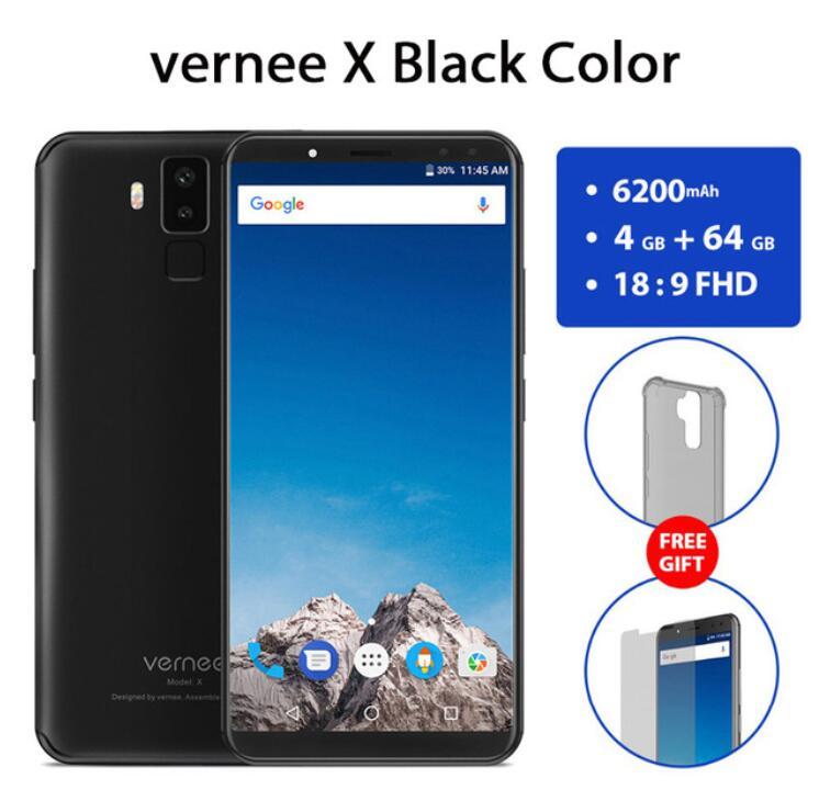 Vernee X 4 Gb 64 GB Helio P23 6,0