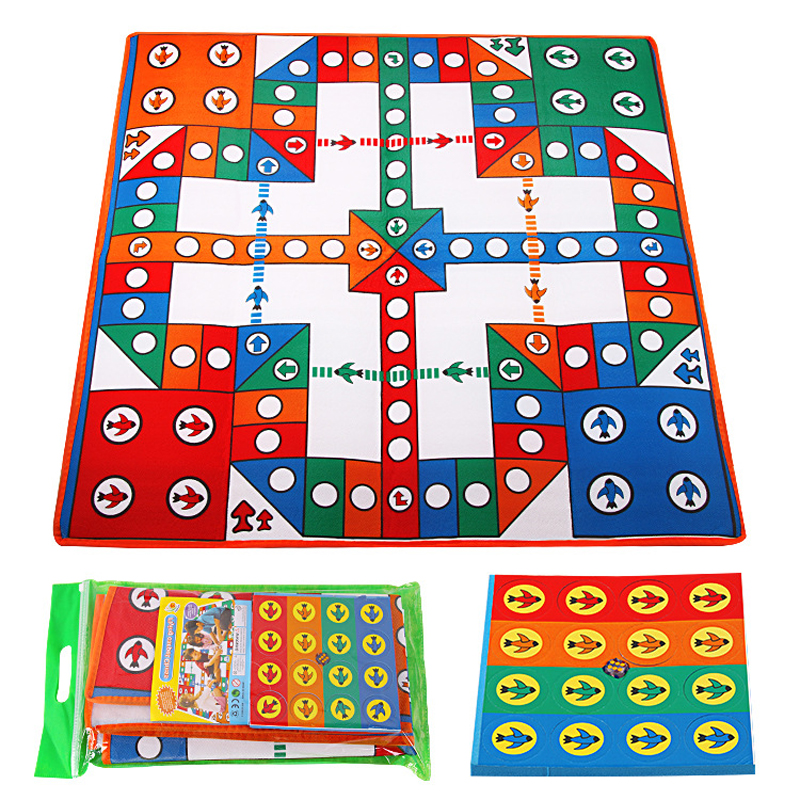 Baby Crawling mat kids Play mat Flying chess carpet Camping mat Climbing Pad Rug Soft Floor Road Mat Crawling Party game toys