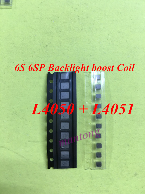 20set/lot (20pcs)for iphone 6s 6splus L4050 L4051 Backlight boost Coil on logic board fix part