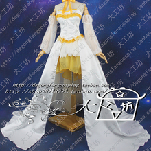 Puella Magi Madoka Magica Tomoe Mami Cosplay Costume long ta