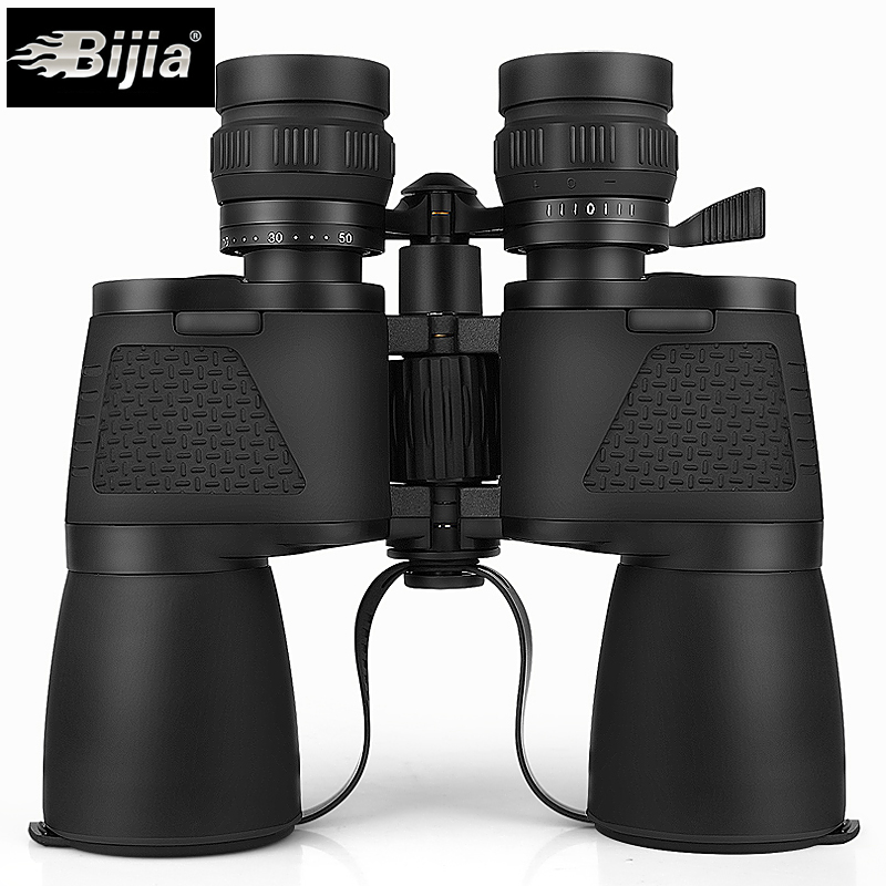 BIJIA 10-120X80 long range zoom hunting Telescope professional binoculars high definition nitrogen waterproof