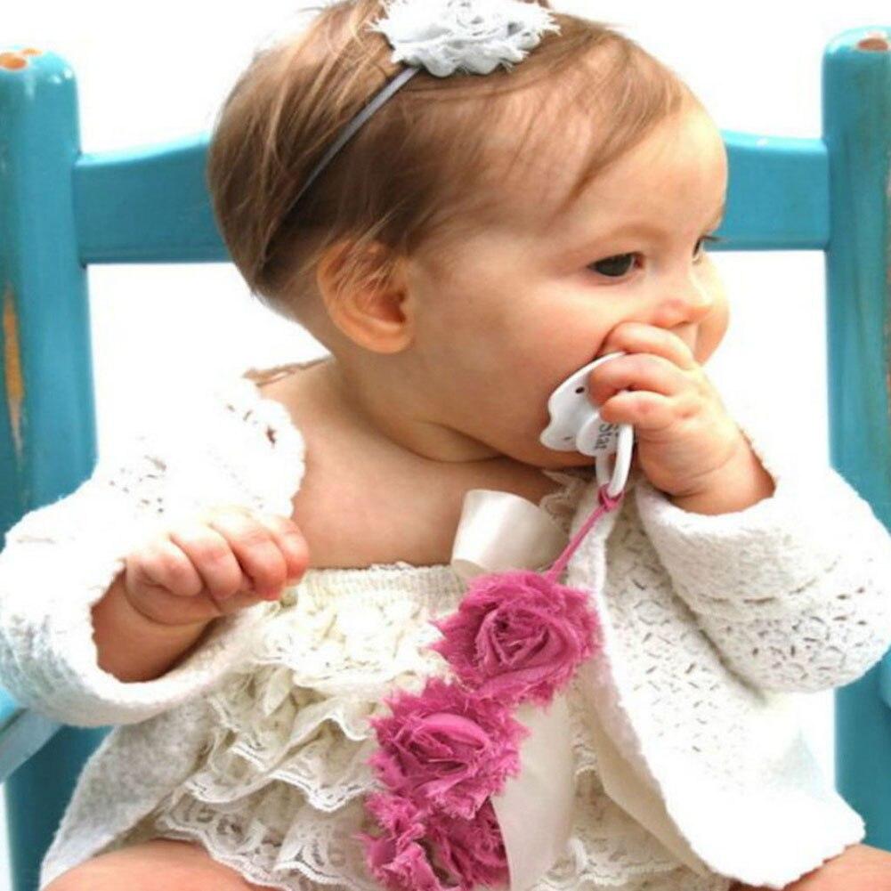 Baby meisjes Baby Rose bloem voeding Dummy fopspeen Clip voor tepels - Voeden - Foto 2