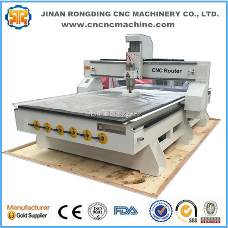 Machine de gravure de routeur de table de vide résistante 1325 CNC