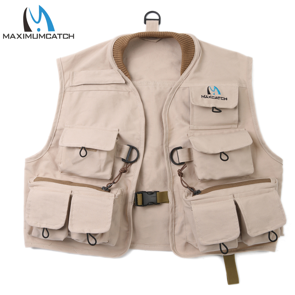 Maximumcatch Fly Fishing Vest 100% Cotton Fly Vest Children Jacket Multi Pocket For Kids Youth fly–fishing with children – a guide for parents page 3