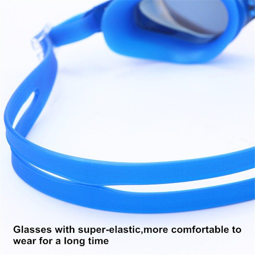 Adult Prescription Optical Myopia Swimming Goggles Anti-Fog Coated Water Diopter Swimming Eyewear 3