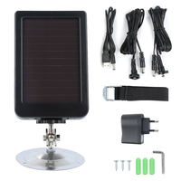 7V 1500mah HC 300A/M HC700G HC550M Solar Charger Panel Power Supply Superb for Hunting Camera Battery HOT