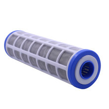 10 «проволока из нержавеющей стали патрон для сетчатого фильтра 40 микрон очиститель воды предварительно фильтр может заполнить Полифосфат для весы предотвращения