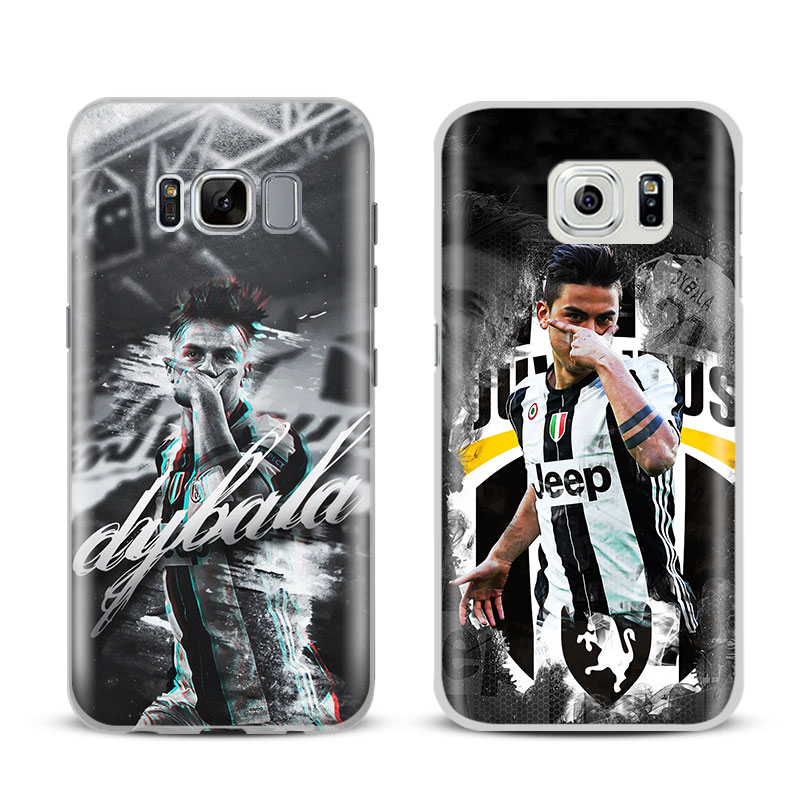 Paulo Dybala Phone Case Shell Cover bag For Samsung Galaxy S4 S5 S6 S7 Edge S8 S9 Plus Note 8 2 3 4 5 A5 A7 J5 2016 J7 2017