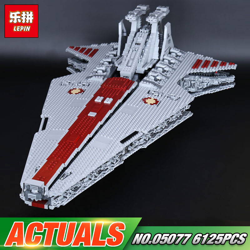 Lepin 05077 Star Series War Genuine The UCS Rupblic Star Set Destroyer Cruiser ST04 Set Building Blocks Bricks Boy Toys victorian america and the civil war