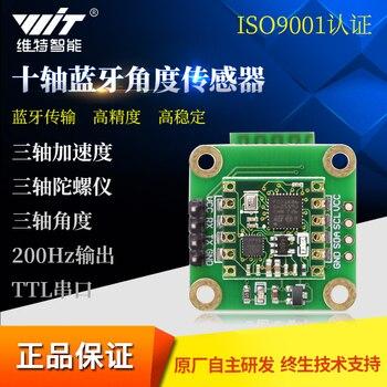 Capteur d'angle de haute précision 10 axes accéléromètre Gyroscope MPU6050 sortie de pression magnétique BWT901B|Pièces et accessoires d'instruments| |  -