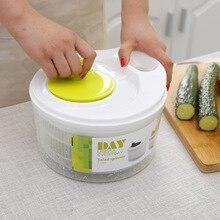 Uso doméstico Spinner Ensalada Vegetal Secadora Furit Colador colador de Cocina Herramientas