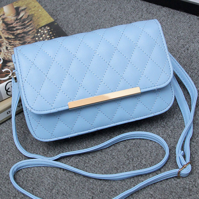 Aliexpress.com : Buy Women messenger bags 2015 new Quilted iron ...