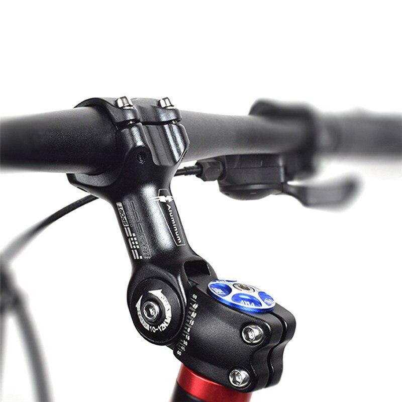 Elevador de vástago de bicicleta ajustable 31,8mm/25,4mm vástago de bicicleta de montaña de aleación de aluminio piezas de bicicleta accesorios de ciclismo MTB