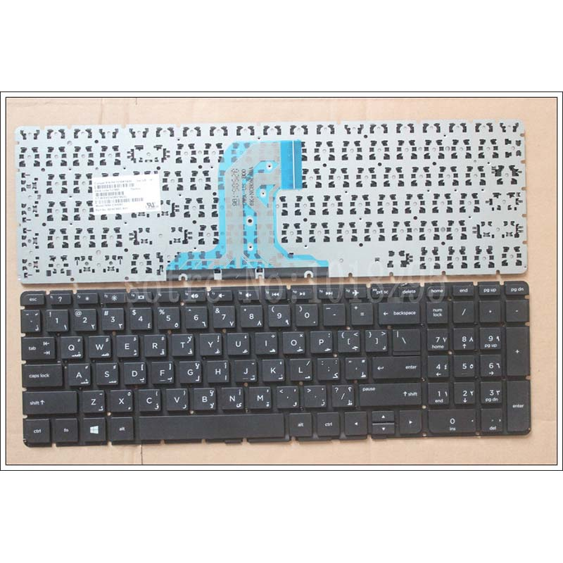 New Arabic Laptop keyboard For HP 250 G4 256 G4 255 G4 15-ac 15-ay 15-ac000 15-af 15-af000 no Frame AR Keyboard PK131EM1A03