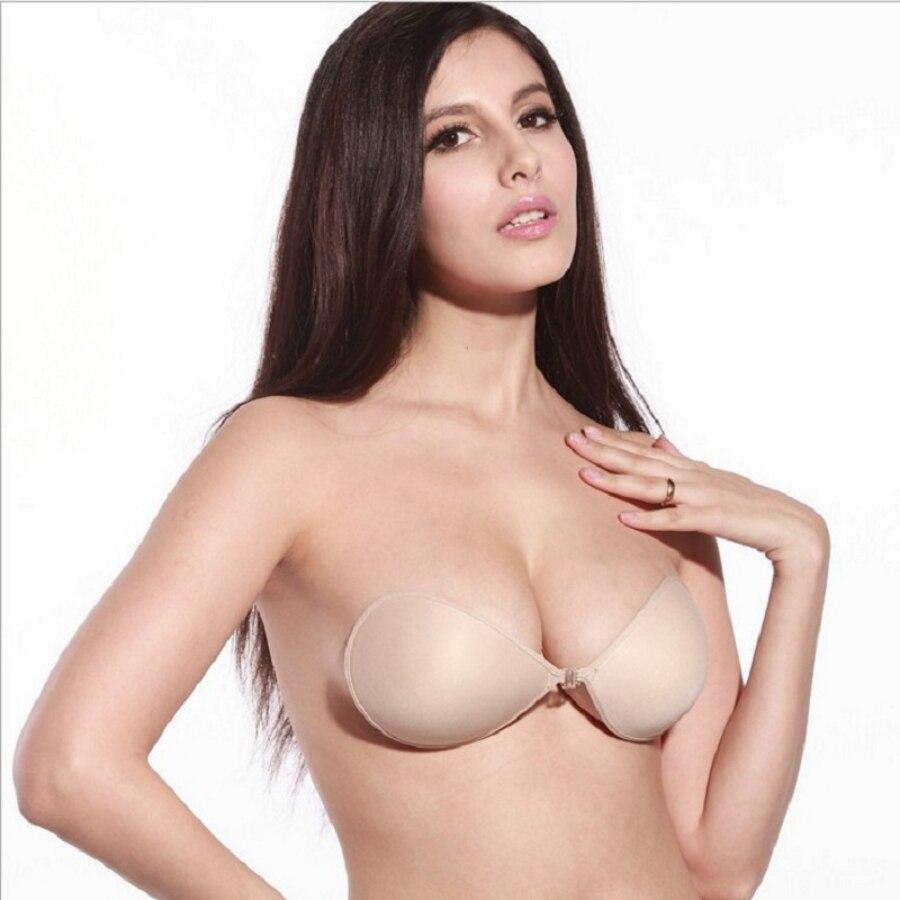 4cda3698d4332 2019 Sexy Sujetador Women S Bra Invisible Push Up Bra Self Adhesive ...