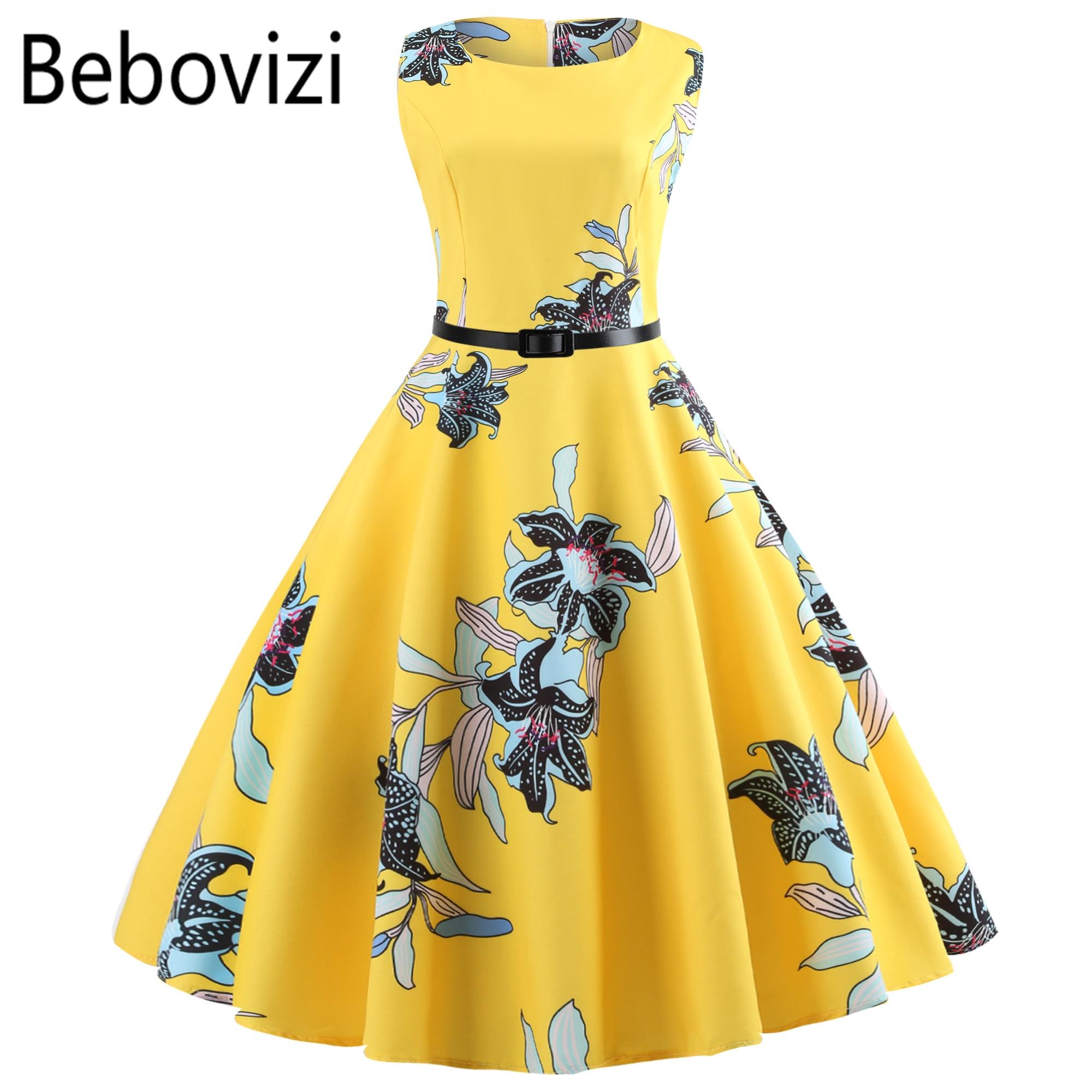 e781929952 Rainbow Plaid Plus Size Women Vintage Dress Robe Vestidos Hepburn 50s Party  Dresses Casual Elegant Rockabilly Pin Up Sundress
