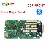 5pcs TCS Scanner PRO Single Green pcb Bluetooth multidiag pro 2016.r1 keygen software hot Car diagnostic tool DHL free