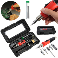 New Arrival 10in1 Professional Gas Soldering Iron Kit Auto Welding Torch For Soldering Tools
