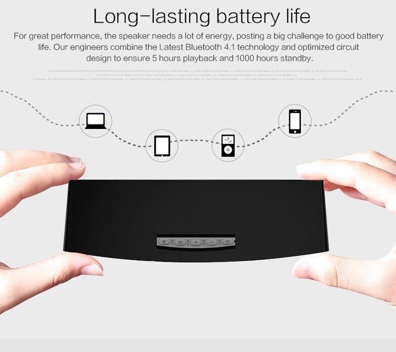 מקורי Bluedio BS-3 (גמלים) Mini Bluetooth רמקול אלחוטי נייד רמקול, מערכת סאונד 3D סטריאו מוסיקה סראונד