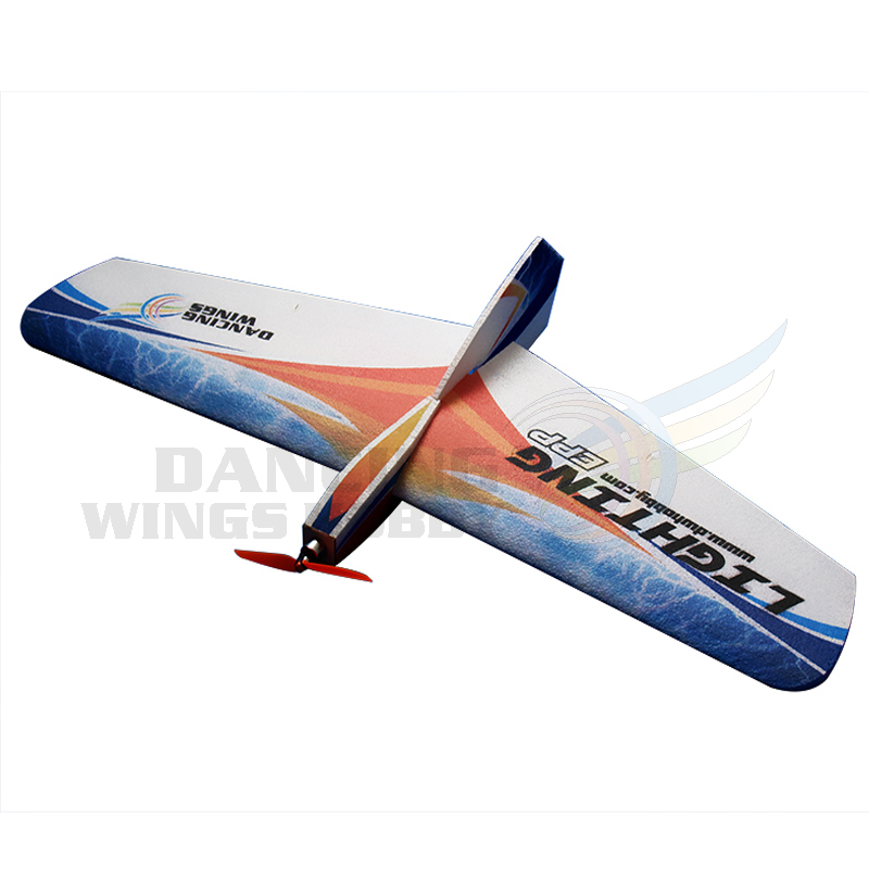 EPP Airplane RC Foam Plane Toy 3CH Radio Control Airplane Model Kit Lighting 1060mm Wingspan for Outdoor Flying image
