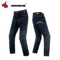 BENKIA Motorcycle Jeans Moto Racing Denim Jeans Motorbike Motocross Off Road Knee Protective Moto Jeans Motorbike Jeans