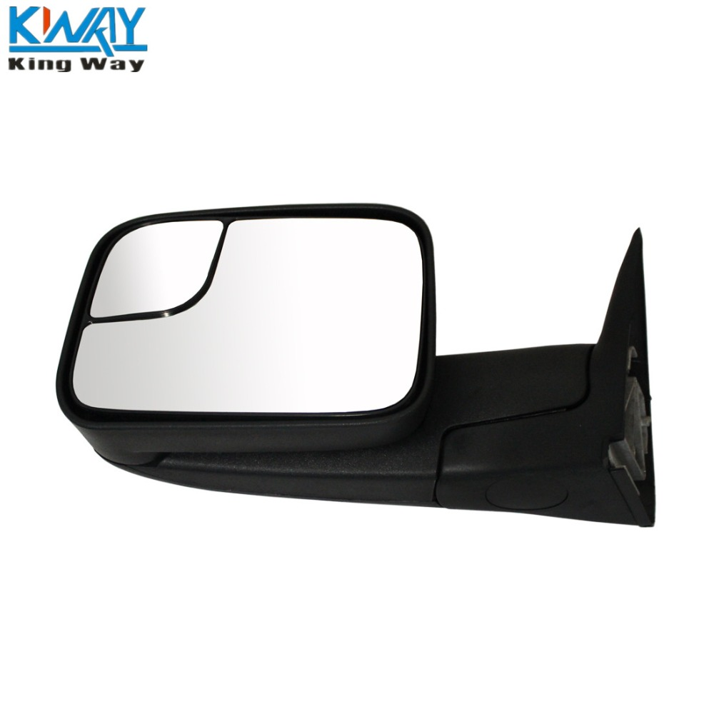 Manual Tow Side Mirror Pair Set For 02-08 Dodge Ram Pickup Towing Mirrors LH/&RH
