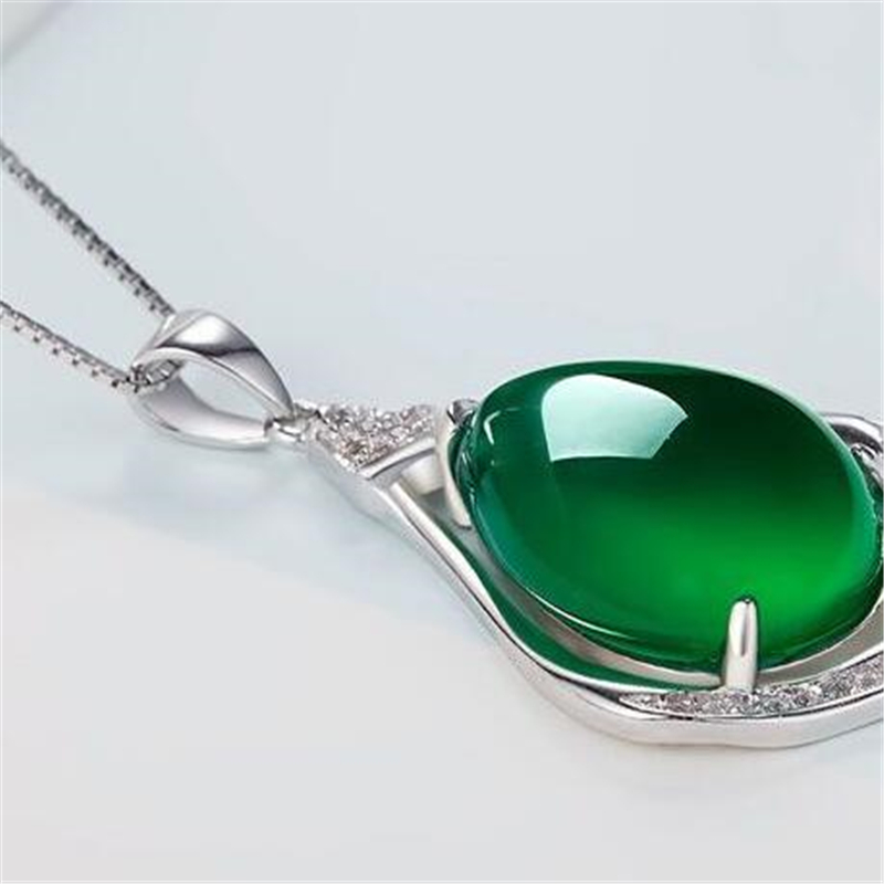 natural white necklaces f chains pendants link jewelry item in sterling silver jade for ataullah from fashion women