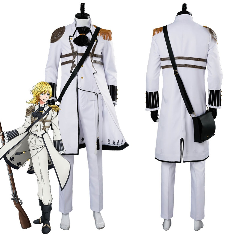 The Thousand Noble Musketeers Charlevill Cosplay Costume Uniform Outfit Coat Halloween Carnival Cosplay Costumes Custom Made