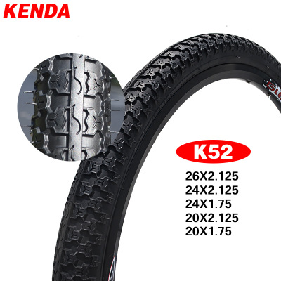 KENDA K52 Bicycle Tire 20 / <font><b>24</b></font> / 26*2.125 20*1.75 Ultralight <font><b>BMX</b></font> MTB Mountain Bike Tire Folding Bike Tyres Bicicleta Pneu image