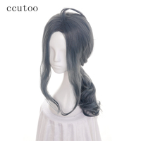 Ccutoo 14 Orange Curly Short Women S Synthetic Hair High Temperature Fiber Cosplay Full Wigs