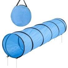Горячая Распродажа(длина) 200*(ширина) 43 см туннель для питомцев собачий туннель ловкость тренировочный туннель для послушания Синий 200 см длина