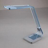 Акрил диммер Управление светодио дный настольная лампа металлическое основание 800lux 4000 К 4500 К 5,5 Вт исследование Чтение Настольная лампа осв