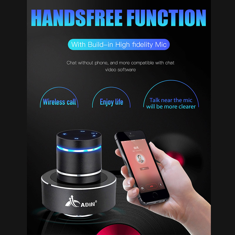 Image 3 - Adin 26W NFC Vibro Column Vibrodynamic Wireless Bluetooth Speaker Vibrating Bass Resonance Vibration Stereo Portable Subwoofer-in Portable Speakers from Consumer Electronics