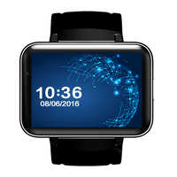 3G Smart Watch DM98 MTK6572 wifi Smartwatch Android 5.1 MTK6572A 4GB/ROM GPS watches 2.2 Display 320*240 900mah battery
